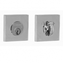 Fusion Contemporary Square Deadbolt