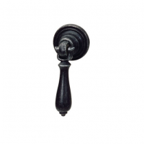 Hafele 120.17.373 Charleston Collection Black Antique Drop Handle Pull