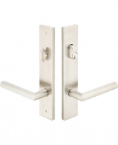Emtek Door Configuration #3 Modern STAINLESS STEEL Style Multi-Point Trim for Patio Doors
