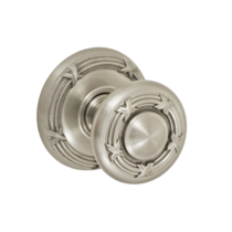 Fusion Decorative Collection Ribbon and Reed Door Knob