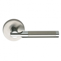 Omnia 23 Stainless Steel Door Lever Latchset