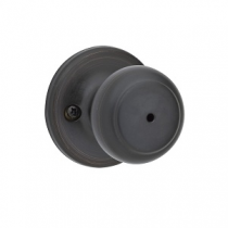 Kwikset 300CV Cove Privacy Door Knob Set