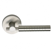 Omnia 33 Stainless Steel Door Lever Latchset