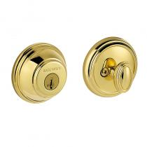 Baldwin Prestige 380RDB Round Single Cylinder Deadbolt