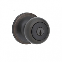 Kwikset 400CV-SMT Cove SmartKey  Entry Door Knob Set