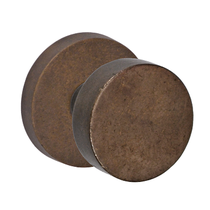 Fusion Sandcast Bronze Disk Knob from the Flat Rock Collection