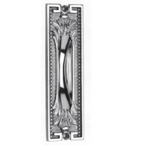 Omnia 4297 Ornate Flush Pull