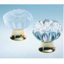 Omnia 4341 Clear Glass Cabinet Knob