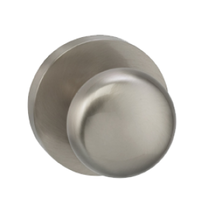 Omnia 458MD Colonial Door Knob Set with Modern Rose from the Prodigy Collection