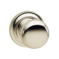 Omnia 458TD Colonial Door Knob Set with Traditional Rose from the Prodigy Collection