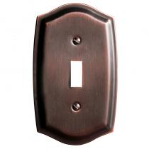 Baldwin 4756 Colonial Single Toggle Switch Plate