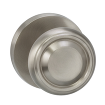 Omnia 565MD Traditional Door Knob Set with Modern Rose from the Prodigy Collection