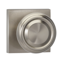 Omnia 565SQ Traditional Door Knob Set with Square Rose from the Prodigy Collection