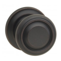 Omnia 565TD Traditional Door Knob Set with Traditional Rose from the Prodigy Collection