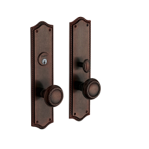 Baldwin Estate 6554 Barclay Mortise Entrance Set
