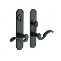 Baldwin Estate 6942 Bismark Mortise Entrance Set