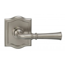 Omnia 785AR Traditional Door Lever Set with Arched Rose from the Prodigy Collection