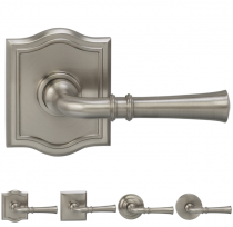 Omnia 785 Traditional Door Lever Set from the Prodigy Collection