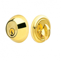 Emtek 8450 Regular Style Solid Brass Single Cylinder Deadbolt