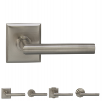 Omnia 912 Modern Door Lever Set from the Prodigy Collection