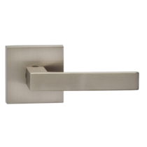 Omnia 930SQ Square Door Lever Set with Square Rose from the Prodigy Collection