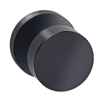 Omnia 935MD Modern Door Knob Set with Modern Rose from the Prodigy Collection