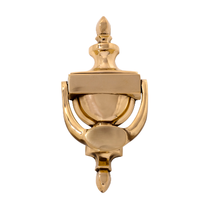 "Brass Accents A03-K4003 Camden Knocker (7-9/16"") With or Without Viewer"