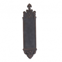 "Brass Accents A04-P5600 Renaissance Collection Gothic Push Plate (3-3/8 x 16"")"
