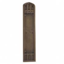 Brass Accents A04-P5840 Renaissance Collection Oxford Push Plate