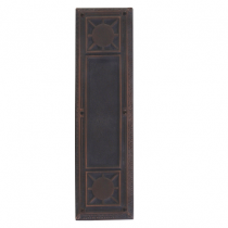 Brass Accents A04-P7200 Renaissance Collection Nantucket Push Plate