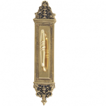 "Brass Accents A04-P5231 Renaissance Collection Apollo Pull Plate (3-5/8"" x 18"")"