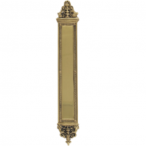 "Brass Accents A04-P5240 Renaissance Collection Apollo Push Plate (3-5/8"" x 25-1/2)"