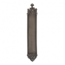 "Brass Accents A04-P5640 Renaissance Collection Gothic Push Plate (3-3/8 x 23-3/4"")"