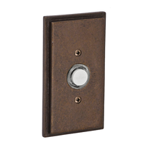 Fusion B-EL-B4 Sandcast Bronze Stepped Rectangular Doorbell