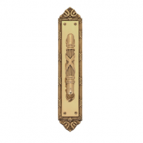 Brass Accents A05-P7231 Ribbon and Reed Pull Plate