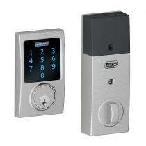 Schlage BE469NX-CEN Century Touch Screen Deadbolt with Nexia Home Intelligence & Alarm (Z-Wave)