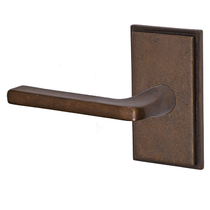 Fusion Sandcast Bronze Radius Blade Lever from the Flat Rock Collection