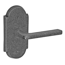 Fusion Sandcast Bronze Radius Blade Lever from the River Rock Collection