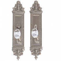 "Brass Accents D04-K523 Renaissance Collection Apollo Mortise Entrance Set (3-5/8"" x 18"")"