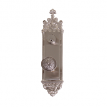 "Brass Accents D04-K560 Renaissance Collection Gothic Deadbolt Plate (3-3/8"" x 16"")"
