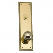 Brass Accents D06-K240 Academy Collection Deadbolt Plate