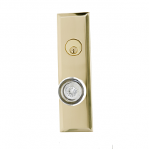 Brass Accents  D07-K540 Quaker Collection Deadbolt Plate