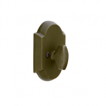 Emtek #1 Sandcast Bronze Style Single Sided Deadbolt (No Outside Trim)