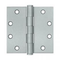 "Deltana 4 1/2"" x 4 1/2"" Square Corner Heavy Duty Steel Hinges (Pair)"