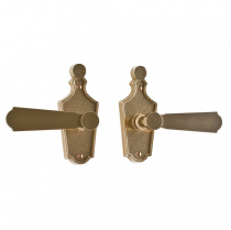 Rocky Mountain E10010 Paris Escutcheon by Roger Thomas with Choice of Knob or Lever