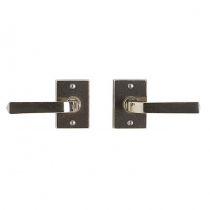 Rocky Mountain E205 Rectangular Metro Escutcheon with choice of Knob or Lever