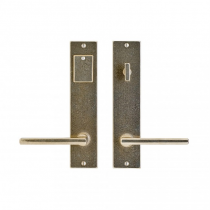 "Rocky Mountain 2-1/4"" x 10"" Metro Entry Set with choice of Knob or Lever (5-1/2"" C-C)"