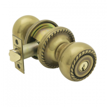 Emtek Rope Keyed Entry Door Knob Set