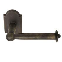 Emtek Sandcast Bronze Bar Paper Holder