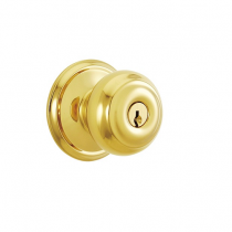 Schlage F51-GEO Georgian Keyed Entry